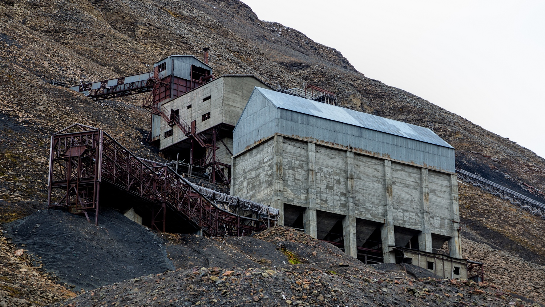 kullgruve på svalbard